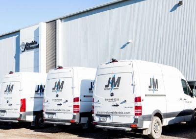JM Controls and Electric 2020 vans